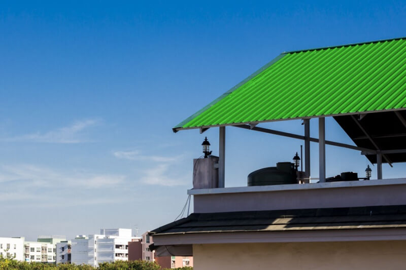 Plastic sheets, roof lights, frp panels TOPACO opaque sheets - covering